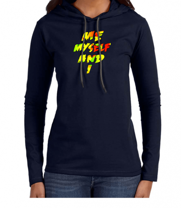 rasta , women t-shirt , anvil , me myself and i