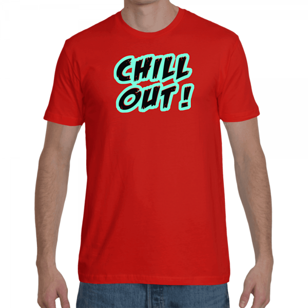 chill out , men t-shirt